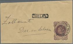 5600: Zanzibar - Postal stationery