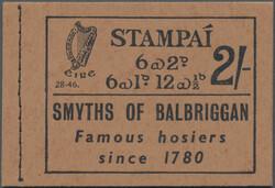 3340: Ireland - Stamp booklets