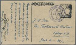 724020: POW Camp Mail World War II - Postal stationery