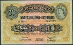 110.550.304: Banknoten - Afrika - Ostafrika