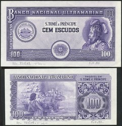 110.550.376: Banknoten - Afrika - St. Thomas und Prinzeninsel