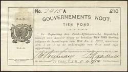 110.550.390: Banknoten - Afrika - Südafrika