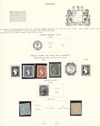 7460: Collections and Lots Indian States - Bulk lot