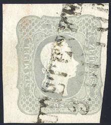 4745062: Austria Newspaper Stamp 1861
