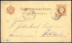 4745340: Österreich Abstempelungen Vorarlberg