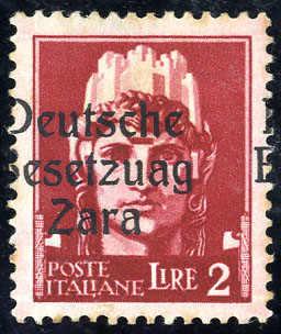 Lot 3064 - germany german occupation ii. worldwar zara -  Viennafil Auktionen 63rd LIVE AUCTION