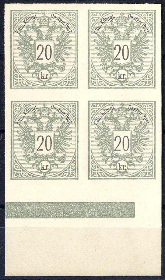 Lot 2700 - europe Austria Issue 1883 -  Viennafil Auktionen Internet Auction #60 Worldwide Mail Auction: Italy, Austria, Germany, Europe and Overseas