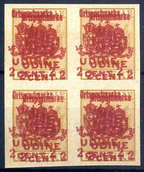 4805: Österreich Feldpost Italien örtliche Zustellmarken