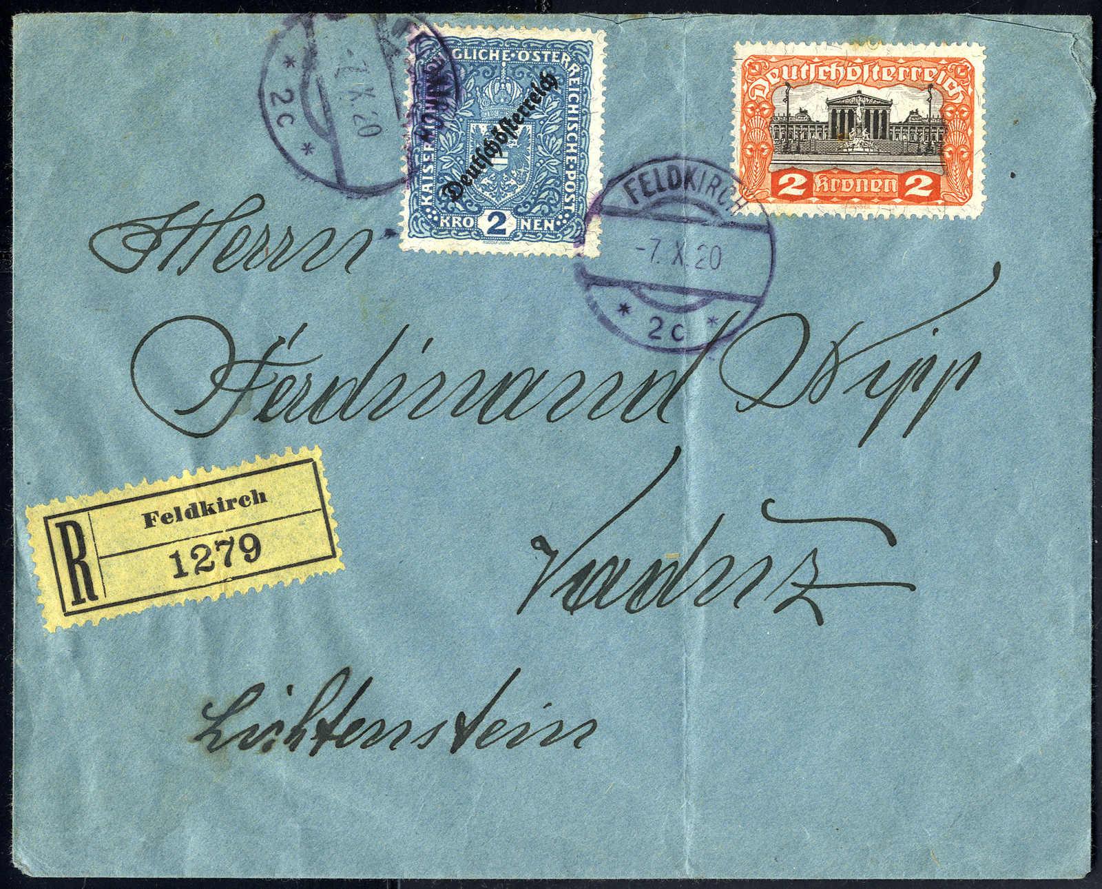 Lot 2245 - europe Austria Deutsch_Österreich -  Viennafil Auktionen 63rd LIVE AUCTION