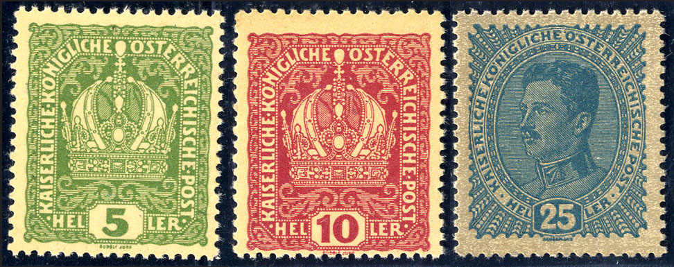 Lot 2191 - europe Austria 1890-1918 Issues -  Viennafil Auktionen 63rd LIVE AUCTION