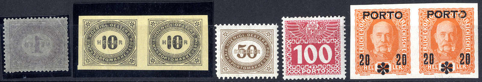Lot 3877 - Lots and Collections collections and lots austrian areas -  Viennafil Auktionen 63rd LIVE AUCTION