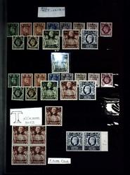 7173: Sammlungen und Posten Ital. Kolonien Besetzung Besetzte italienische Gebiete - Sammlungen