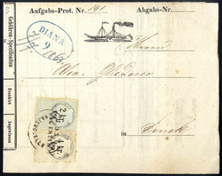 4745385: Austria Cancellations Military Border - Cancellations and seals