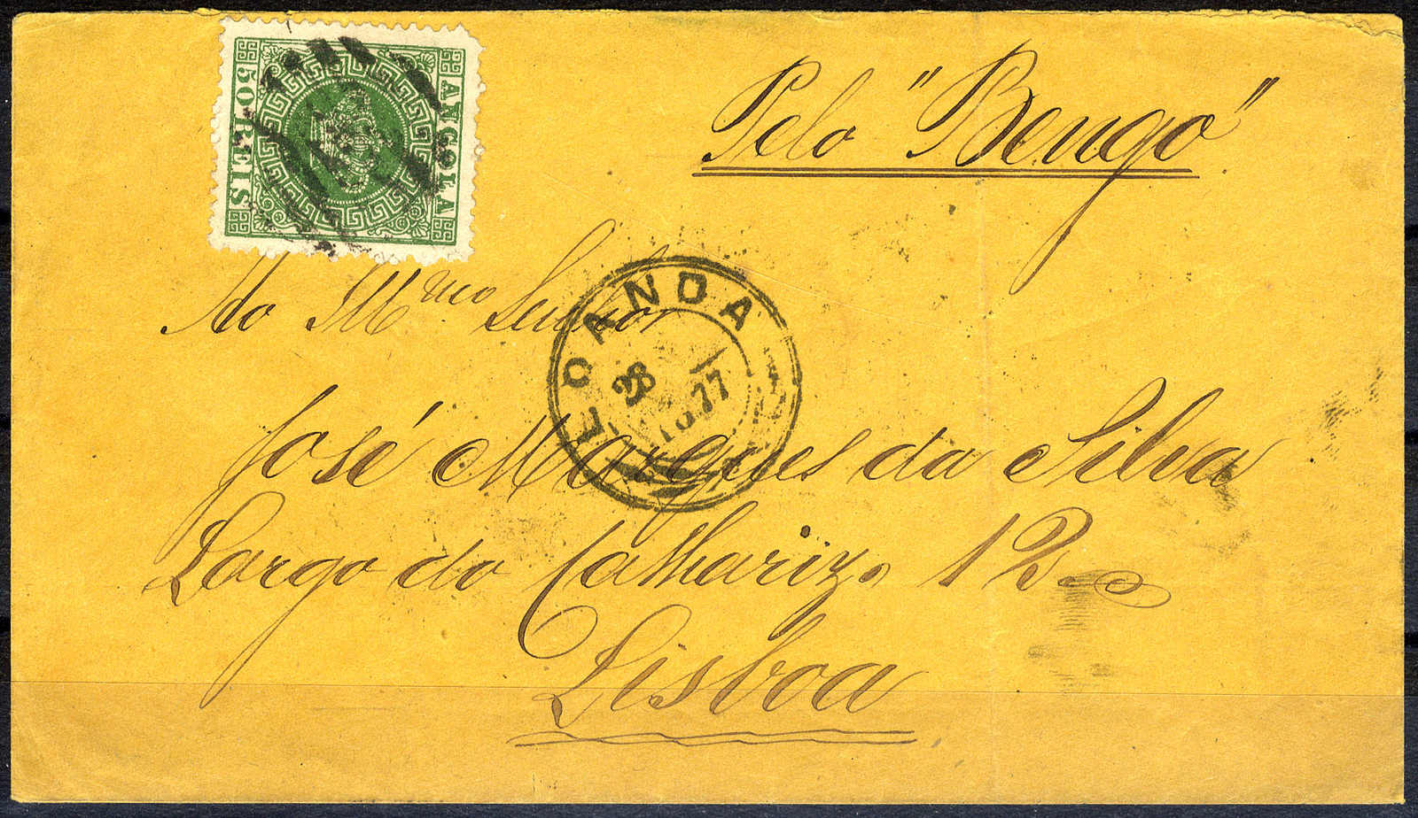 Lot 3374 - other countries angola -  Viennafil Auktionen 63rd LIVE AUCTION