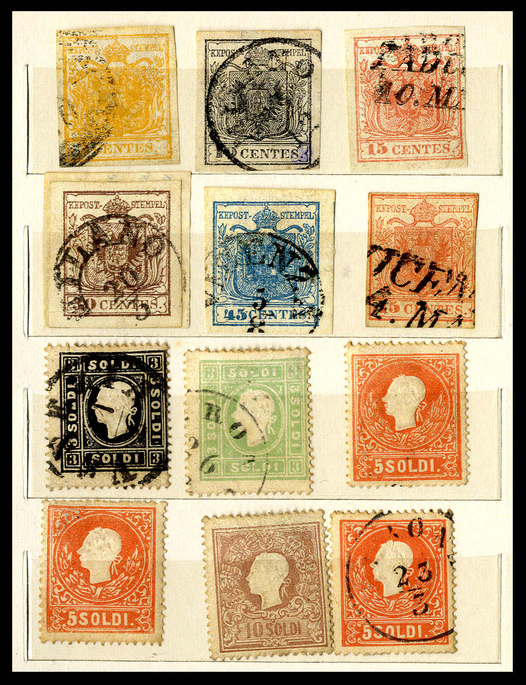 Lot 1269 - Lots and Collections collections and lots italian states -  Viennafil Auktionen 63rd LIVE AUCTION