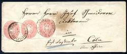 4745070: Austria 1863/64 Issue
