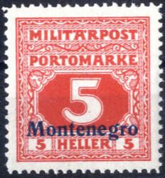 4810: Österreich Feldpost Montenegro - Portomarken