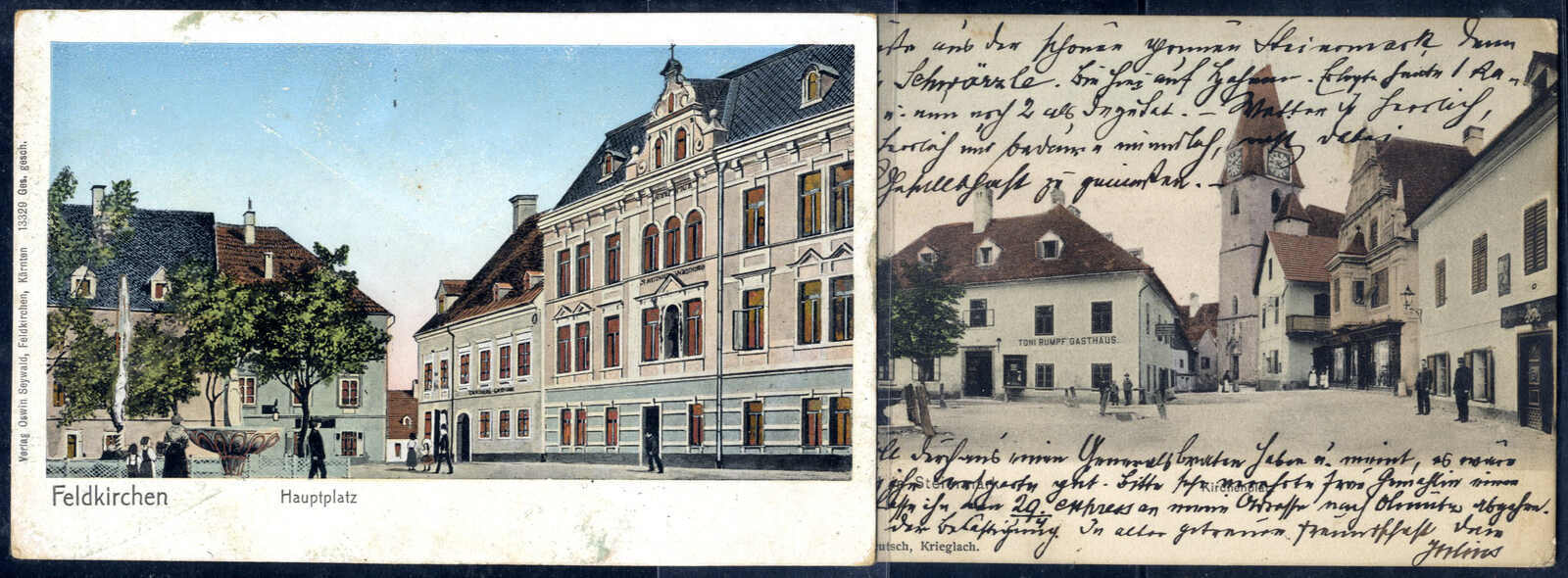 Lot 4122 - Lots and Collections Lots and Collections Picture Postcards Europe -  Viennafil Auktionen Auction #66 Worldwide Mail Auction: Italy, Austria, Germany, Europe and Overseas