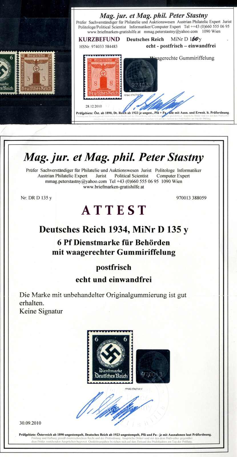 Lot 3102 - germany German Empire -  Viennafil Auktionen Auction #66 Worldwide Mail Auction: Italy, Austria, Germany, Europe and Overseas