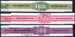 4755: Austria Accounting Stamps