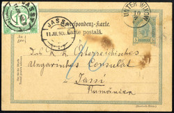 4745350: Austria Cancellations Bohemia - Postage due stamps