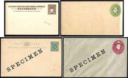 1970: Britisch Ostafrika - Briefe Posten