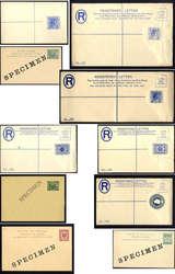 4250: Malaiische Staatenbund - Briefe Posten