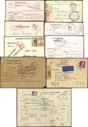 724020: Kriegsgefangenenlagerpost 2. Wk - Briefe Posten