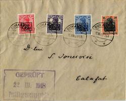425: Deutsche Besetzung I. WK Rumänien 9.Armee