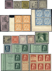 7005: Sammlungen und Posten Altdeutschland - Sammlungen