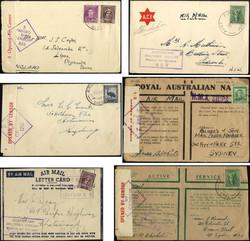 1750: Australien - Briefe Posten