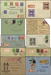 1305: Bizone - Briefe Posten