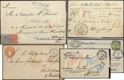 7005: Sammlungen und Posten Altdeutschland - Briefe Posten