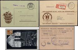 7720: Sammlungen und Posten Heimat - Briefe Posten