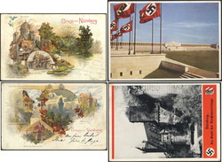 7815: Sammlungen und Posten Ansichtskarten Bayern - Sammlungen