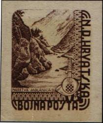 4085: Kroatien - Militaerpostmarken