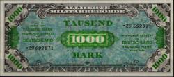 840300: Banknoten Alliierte Militärbehörde und Ausgaben von 1945-1948