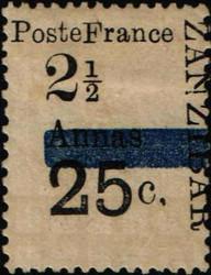 5600020: Sansibar Französische Post