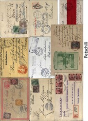 150: Deutsche Auslandspost China - Briefe Posten