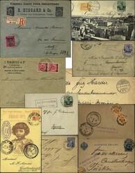160: Deutsche Auslandspost Türkei - Briefe Posten