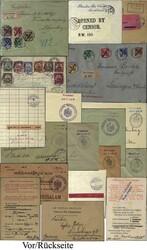 175: Deutsche Kolonien Ostafrika - Briefe Posten