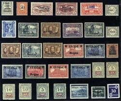 7017: Sammlungen und Posten Besetzung I. WK - Sammlungen