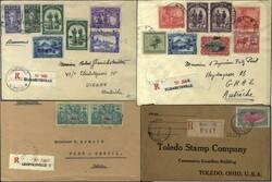 7360: Sammlungen und Posten Afrika - Briefe Posten