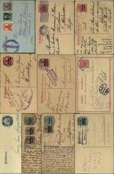 7017: Sammlungen und Posten Besetzung I. WK - Briefe Posten