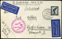 982554: Zeppelin, Zeppelinpost LZ 127, Mittelmeerfahrten