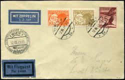 982508: Zeppelin, Zeppelinpost LZ 127, Deutschlandfahrten 1931