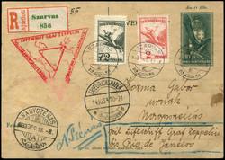 982520: Zeppelin, Zeppelinpost LZ 127, Nordamerikafahrten