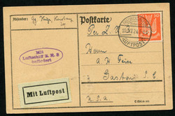 982010: Zeppelin, Zeppelinpost LZ120-ZR3, Deutsche Zeppelinpost