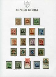 3550: Italienisch Djubaland - Sammlungen