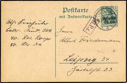 370: Deutsche Besetzung I. WK Postgebiet Ober Ost - Ganzsachen